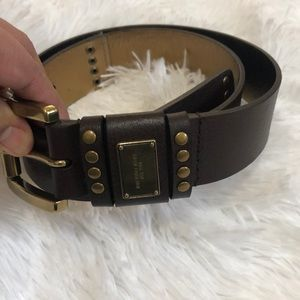 Michael Kors dark brown Belt size S 554906